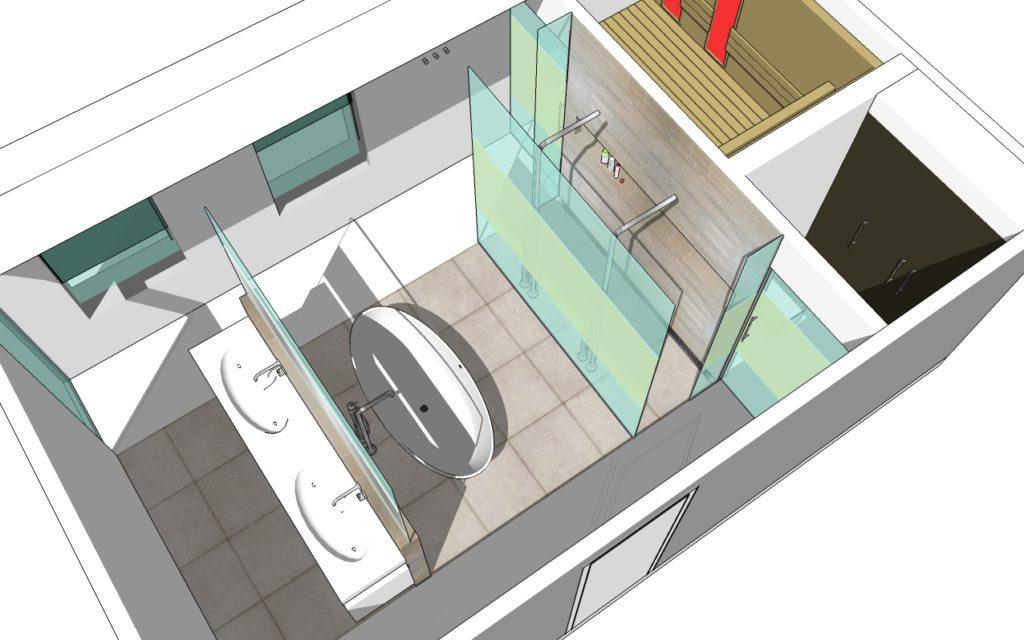 Een goed badkamer ontwerp