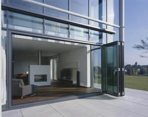 Glazen vouwwand Solarlux