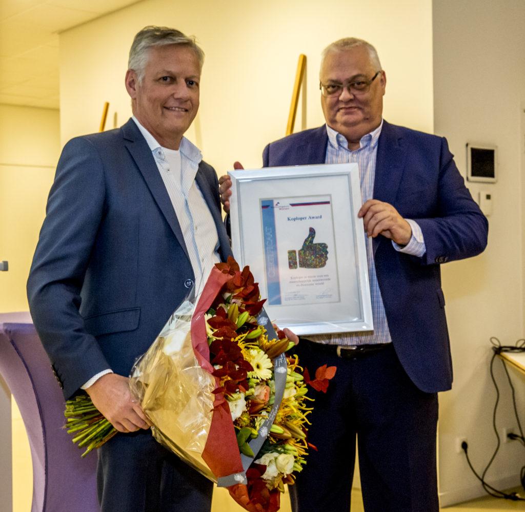 Arte winnaar eerste Koploper Award