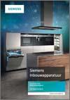 Brochure Siemens inbouwapparaten