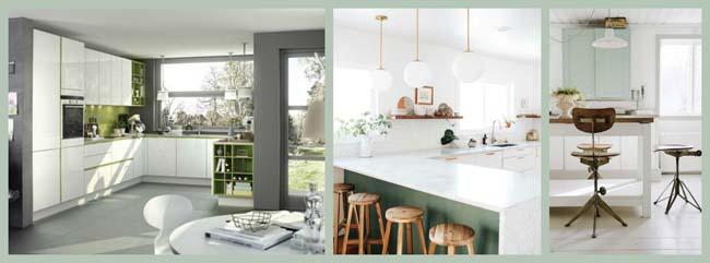 Bedwelming 5 x groene keuken - Voorlichtingsburo Wonen &EB98