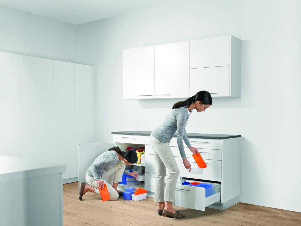 Ergonomie in de keuken - lades