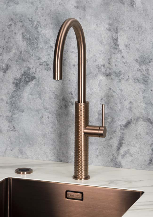 Nieuwe kokendwaterkraan Selsiuz by Gessi design