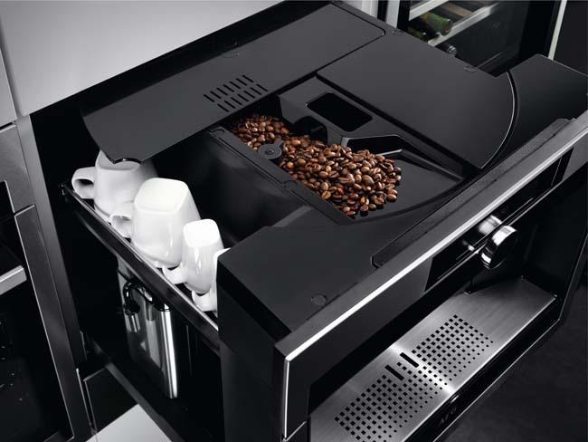 Inbouw koffiezetapparaat is een praktische eyecatcher