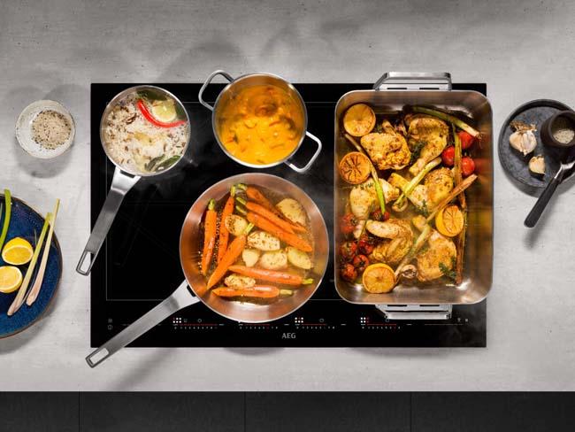 TotalFlex is de oneindig flexibele kookplaat