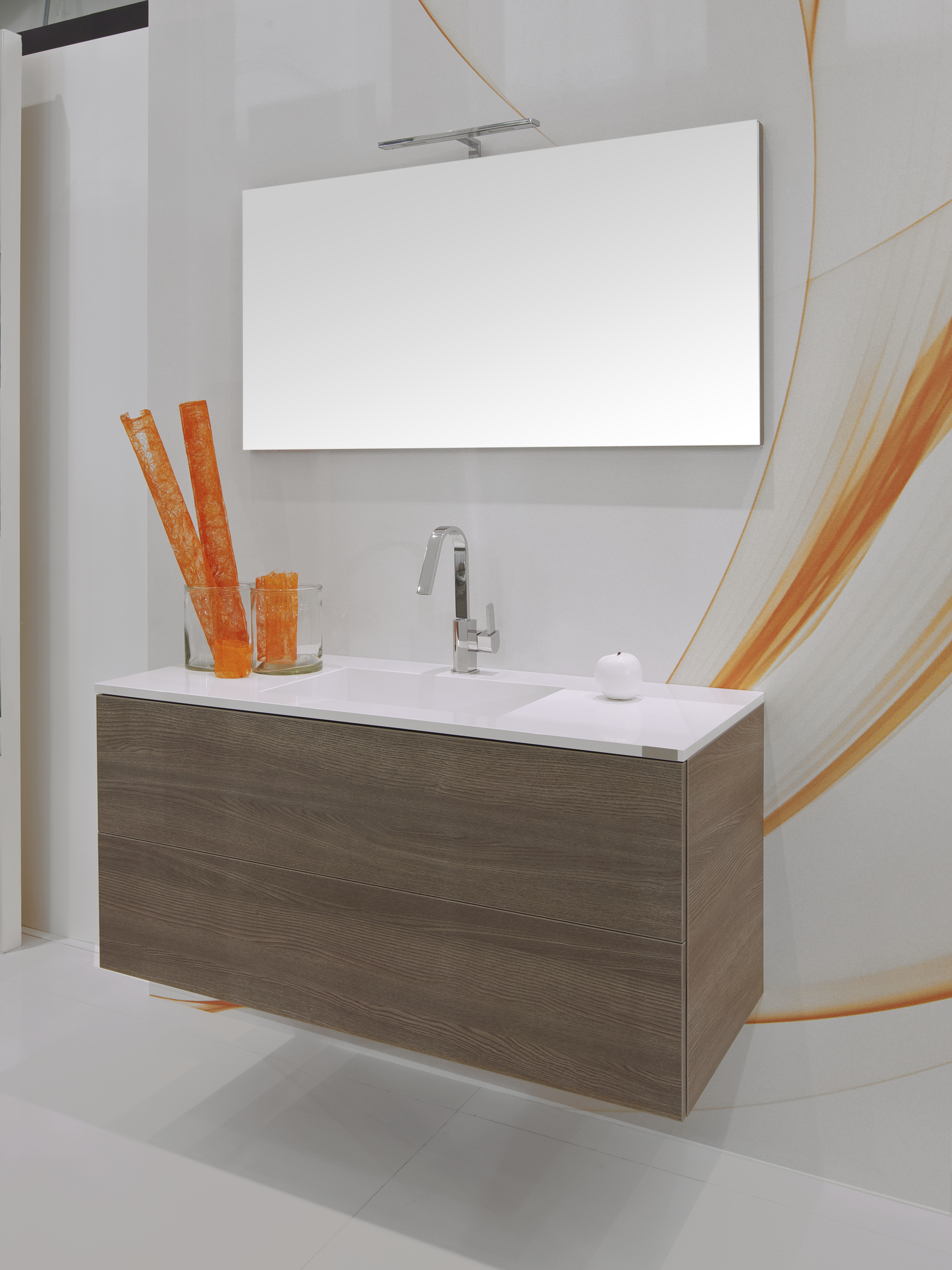 Een volledige badkamer uit één materiaal - Voorlichtingsburo Wonen