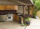 Buitenkeuken met Dekton keukenblad
