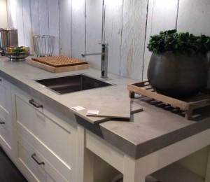 Keukenblad ArteKeramiek Beton Riverwashed