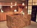 Marmerlook keuken van keramiek