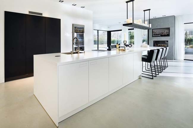 Keukeneiland van Silestone