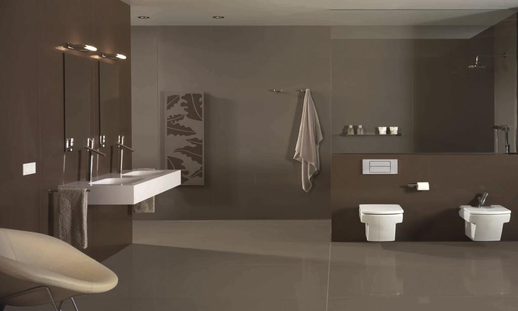 Minimale voegen in badkamer