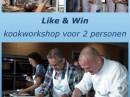 Like & Win een kookworkshop
