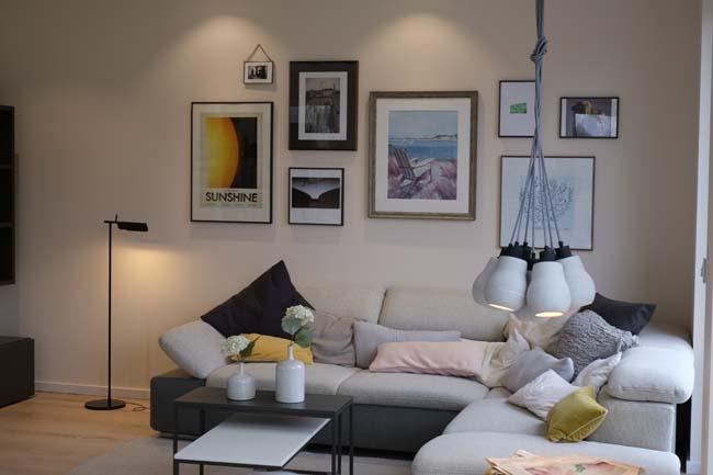 Verschillende soorten verlichting voor in de woonkamer