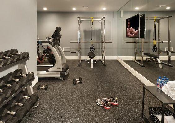 Kelder inrichten als fitnessruimte