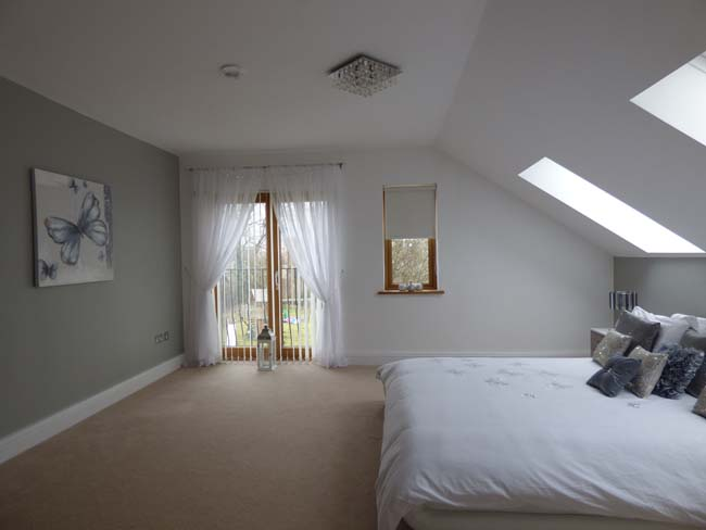 zolderkamer als slaapkamer