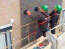 Nieuwe generatie zonnepanelen in gevel verwerkt