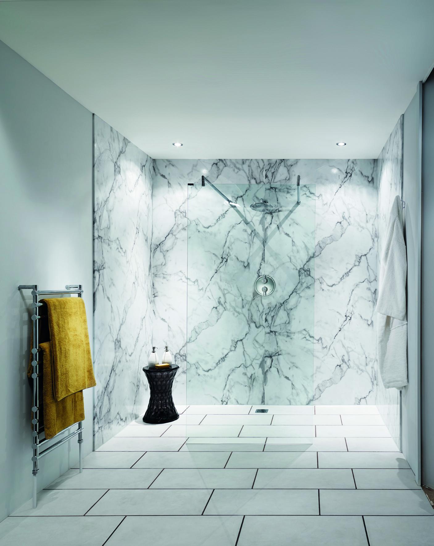 Badkamerwanden - Voorlichtingsburo Wonen