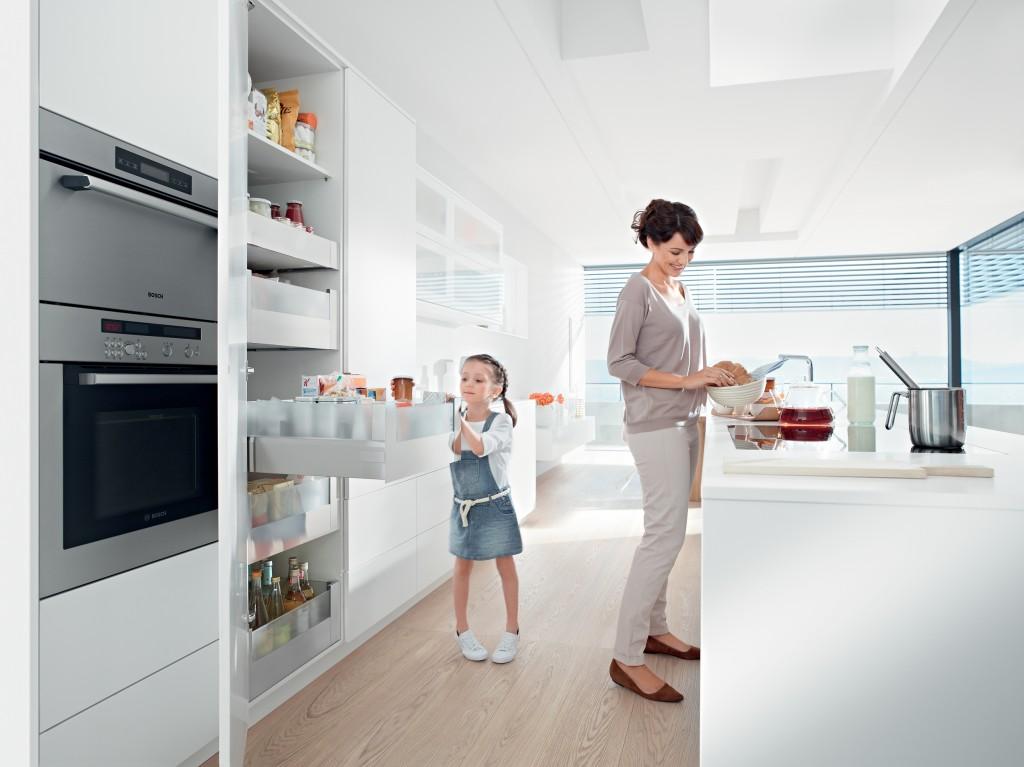 Optimale bergruimte in de keuken voorlichtingsburo wonen