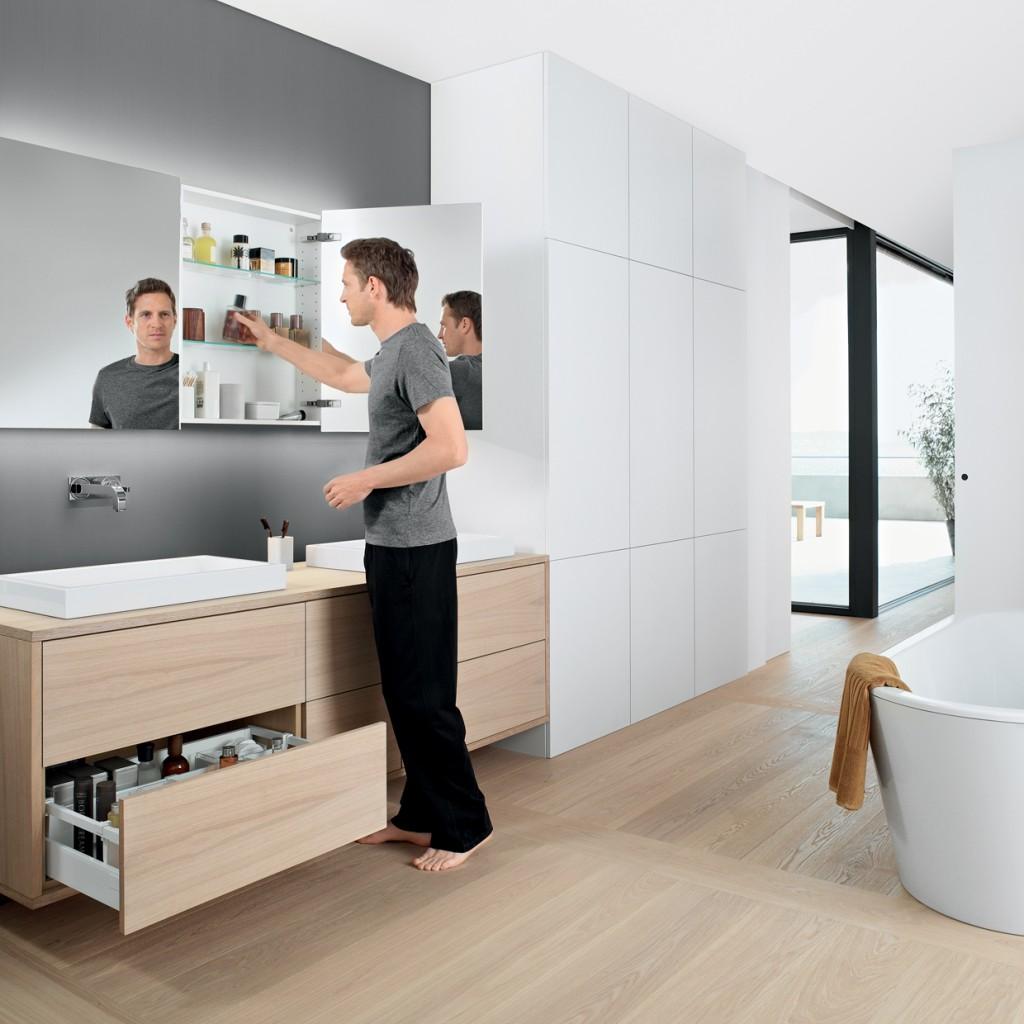Praktische organisatie in uw badkamer - Voorlichtingsburo Wonen