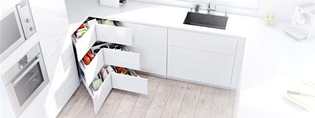 Ongekend Slimme hoekkast voor de keuken - Voorlichtingsburo Wonen OM-88