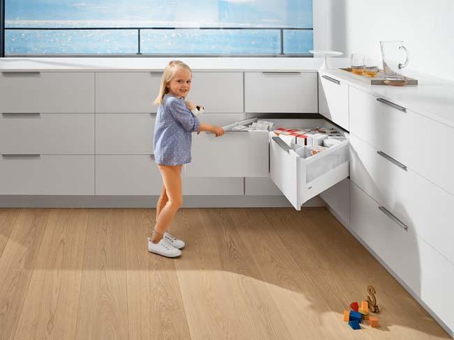Uitgelezene Slimme hoekkast voor de keuken - Voorlichtingsburo Wonen RU-93