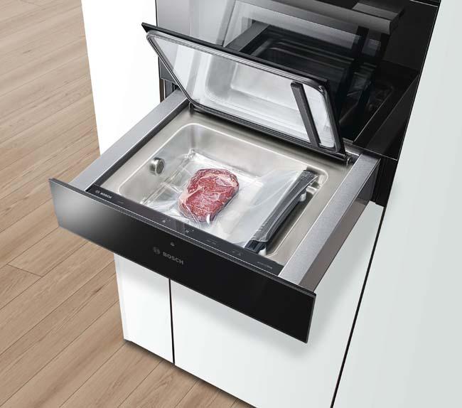Nieuwe serie huishoudelijke apparaten in carbon black