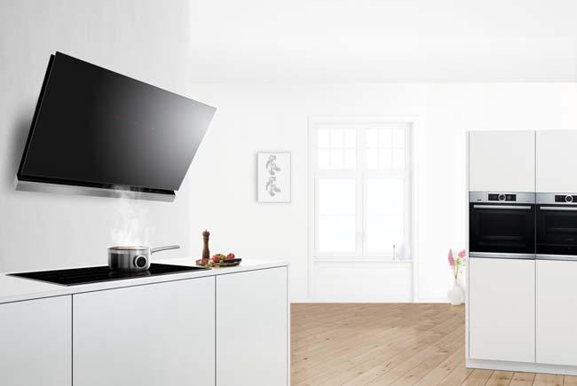 aantrekkelijke afzuigkappen van bosch voorlichtingsburo wonen. Black Bedroom Furniture Sets. Home Design Ideas