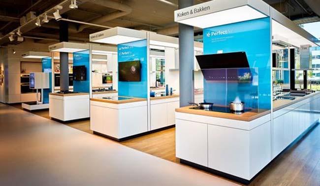 Bosch huishoudapparaten opent deuren nieuwe showroom for Inspiratiehuis echt