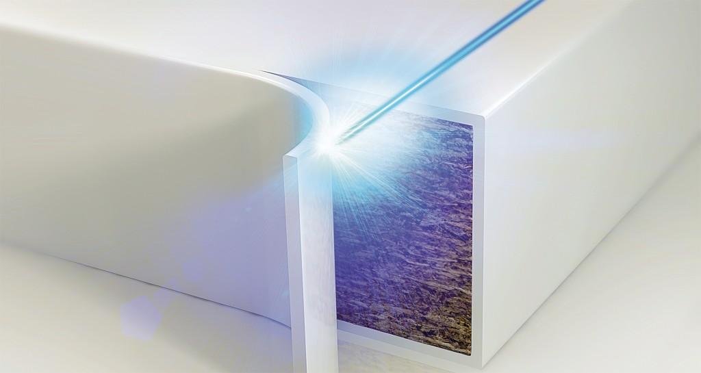 Bribus Laser Edging
