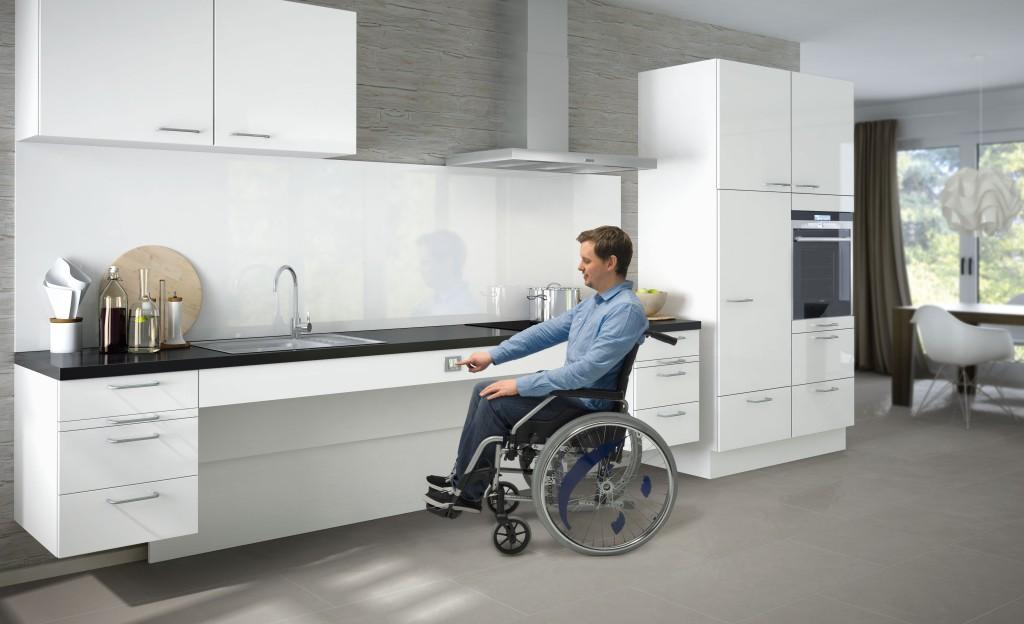 Ergoline Keukens voor mensen met een lichamelijke beperking