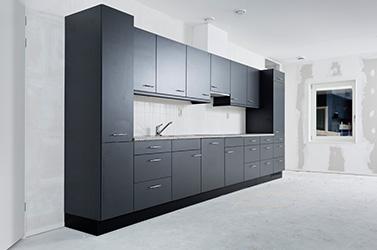 Bribus keuken in nieuwbouw huurwoning
