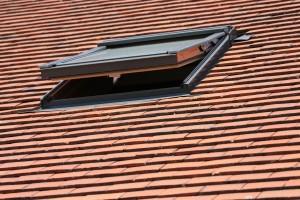 Open dakraam voor ventilatie