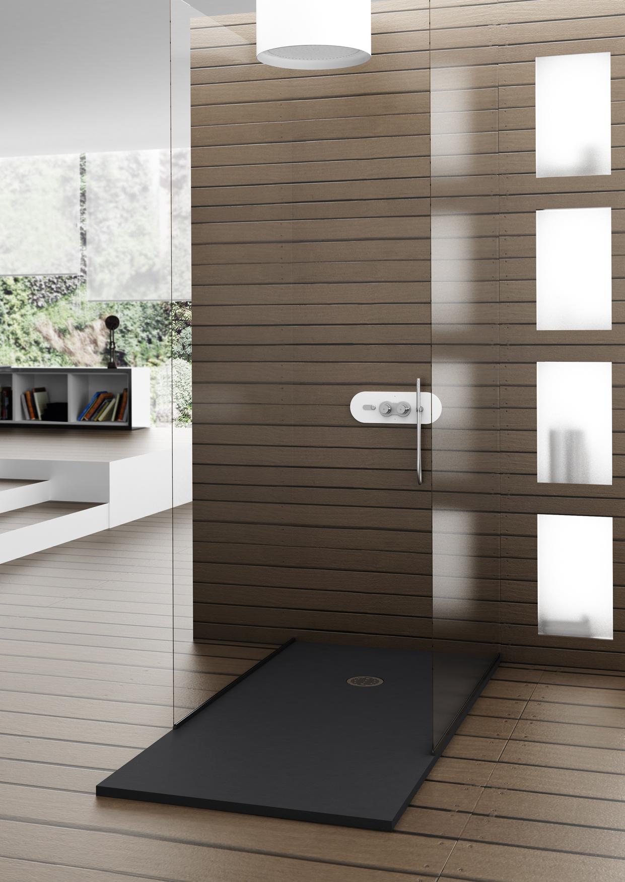 Hidrobox hoogwaardige en eigentijdse douchevloeren voorlichtingsburo wonen - Eigentijdse douche ...