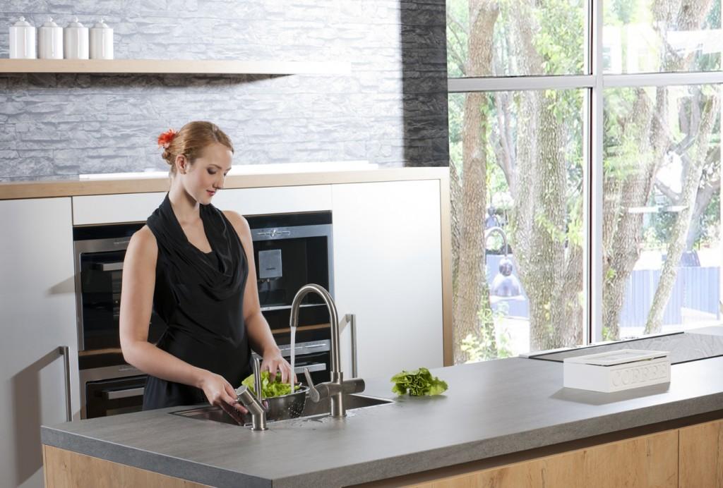 Drie Zones Keuken : Keukenindeling en werkruimte voorlichtingsburo wonen