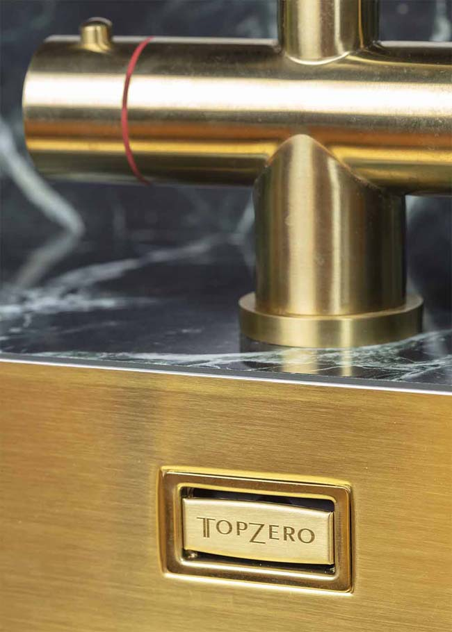 TopZero spoelbakken: randloos