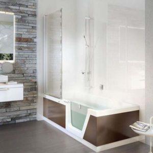 Douchen en baden in een