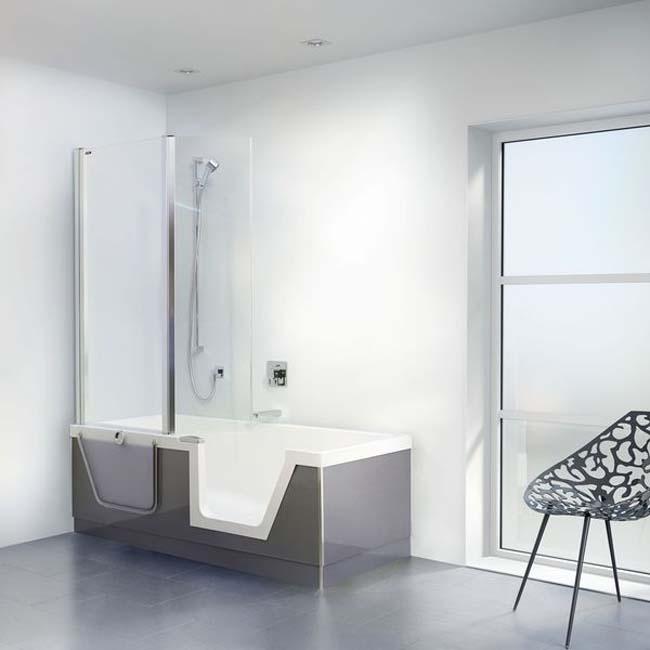 Step-in Pure douchen en baden