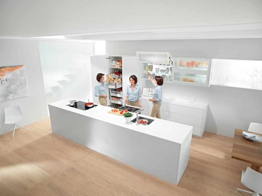 Inspiratie Keuken Indeling : Ergonomie in de keuken – Voorlichtingsburo Wonen