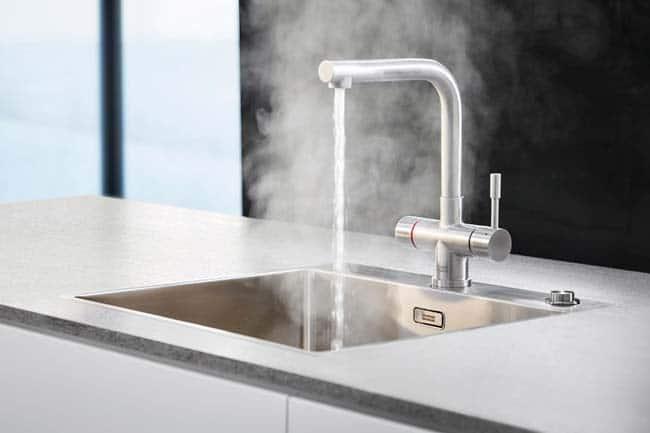 Onderhoud kokendwaterkraan