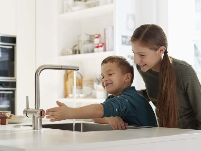 Keukenhygiëne begint bij je kraan