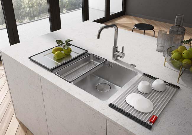 De nieuwe Franke Mythos spoelbak: een blikvanger in je keuken!