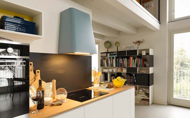 Smart Deco afzuigkap met speels design