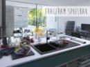 Spoelbakken geven keuken kleur: Fraceram