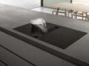 Flexinductie kookplaat met geïntegreerde afzuiging