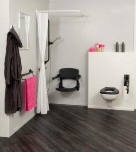 Hulpmiddelen voor Minder valpartijen in de badkamer