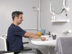 Toegankelijke badkamer voor iedereen