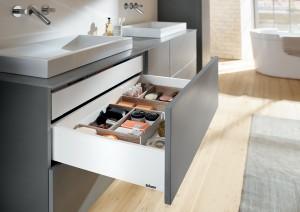 Handige Indeling Badkamer : Showroom wastafel met lade indeling verbazingwekkend best dubbele