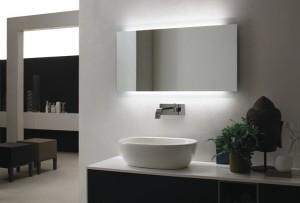 Badkamerspiegels met maximaal comfort - Voorlichtingsburo Wonen