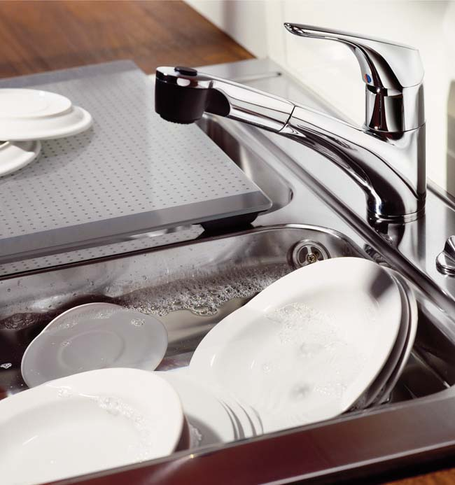 De keukenkraan als finishing touch!