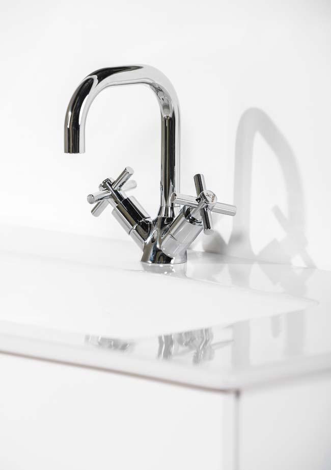 Venlo Nimbus Cross - klassieke kraan voor keuken en badkamer ...